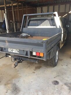 Toyota Hilux heavy duty dual cab tray  Liverpool Liverpool Area Preview
