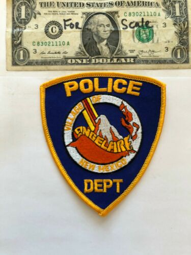 Rare Angelfire New Mexico Police Patch Un-sewn great condition