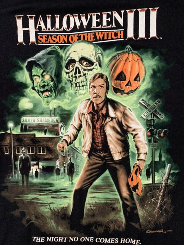 Michael Myers Rare Halloween III Season Of The Witch Shirt XXL Fright Rags
