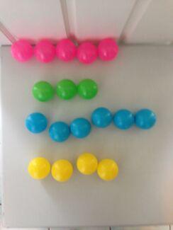 Colour Plastic Balls