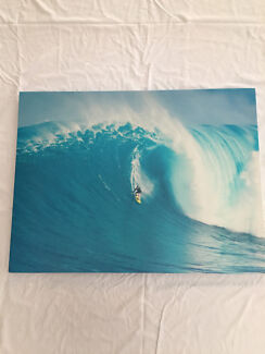 Wall Art - Surfing Canvas