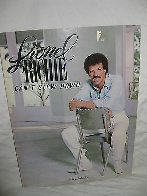 Lionel Richie: Can't Slow Down  By: Lionel Richie Milton Okun(Editor) _1984