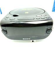 Sony Stereo CD Radio  Player Digital Dual Alarm Clock AM FM ICF-CD815