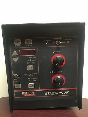 Lincoln 10254 Synergic 7f Wire Feeder Controller