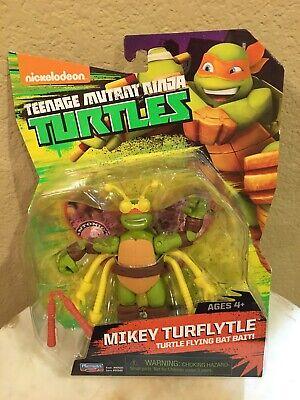 """Nickelodeon Teenage Mutant Ninja Turtles 2014 TMNT """"MIKEY TURFLYTLE"""" Figure NIB"""