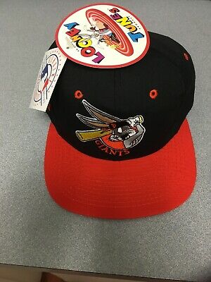 MLB NWT 1993 SF Giants Bugs Bunny Looney Tunes SnapBack Hat Baseball Cap