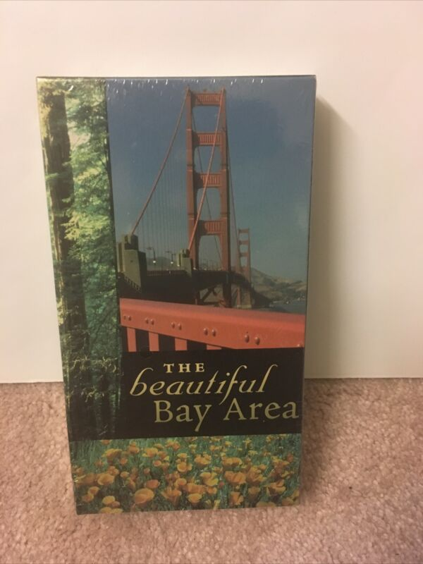 The Beautiful Bay Area / Brand New Sealed VHS / Free Shipping