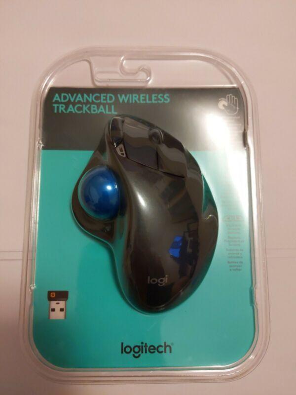 BRAND NEW Logitech Advanced Wireless Trackball Side Ball Wireless Mouse M570