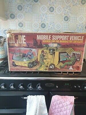 Vintage 1972 Hasbro G.I.JOE Mobile Support Vehicle