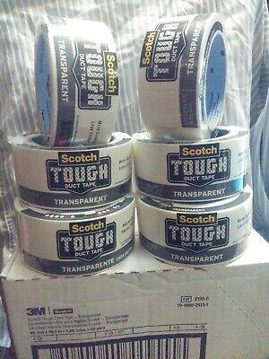 - 3M Scotch TOUGH Duct Tape. Transparent