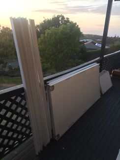 Built in wardrobe doors and tracks Dudley Lake Macquarie Area Preview