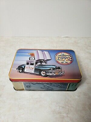 ZIPPO CAR VINTAGE COLLECTIBLE TIN BOX 1998 LIMITED EDITION