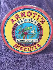 Arnotts federation biscuit tin Southport Gold Coast City Preview