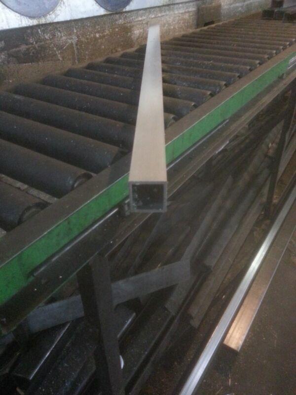 """1"""" Aluminum Square Tube 6063 T5 .125"""" wall x 84"""""""