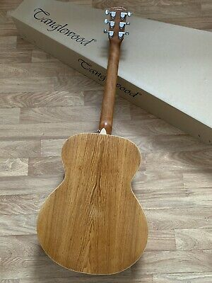 £300 Orchestra / Folk Acoustic Guitar in Olive wood w/ Solid Top + £40 Gig bag