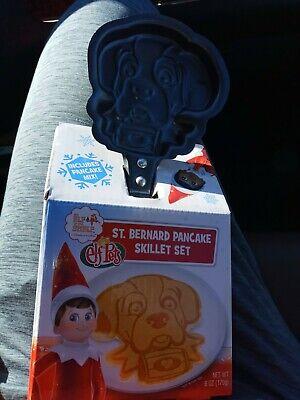 Elf On The Shelf - Elf Pets - St. Bernard Shaped Skillet Set with Pancake Mix