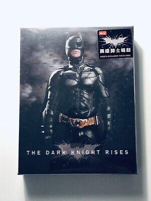 THE DARK KNIGHT RISES Blu-ray STEELBOOK [HDZETA] DOUBLE LENTI OOS/OOP Batman (The Dark Knight Rises Blu Ray Steelbook)