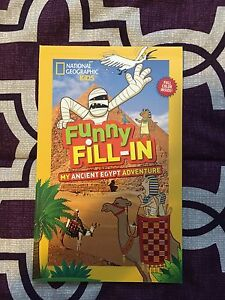 National Geographic Funny Fill In Ancient Egypt