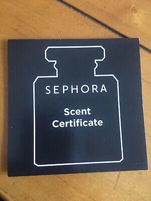Sephora Scent certificate-Men- Burberry- Dolce&Gabbana-Prada-YSL-Paco Rabanne-