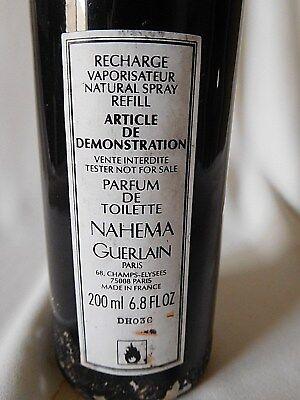 Used, Vintage GUERLAIN NAHEMA 6.8 OZ / 200 ML Parfum de Toilette Spray for sale  Cibolo