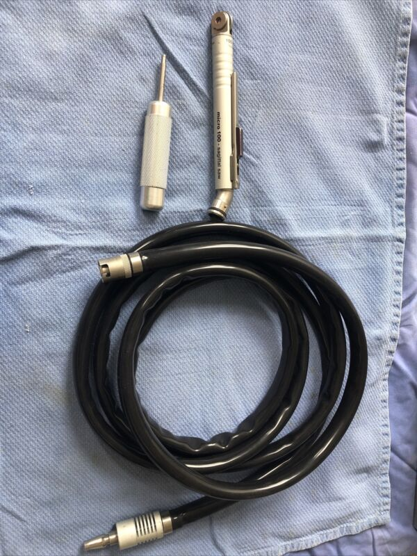 Zimmer HALL Surgical 5053-11 Micro 100 - Sagittal Saw w/ Pneumatic Hose 5052-10