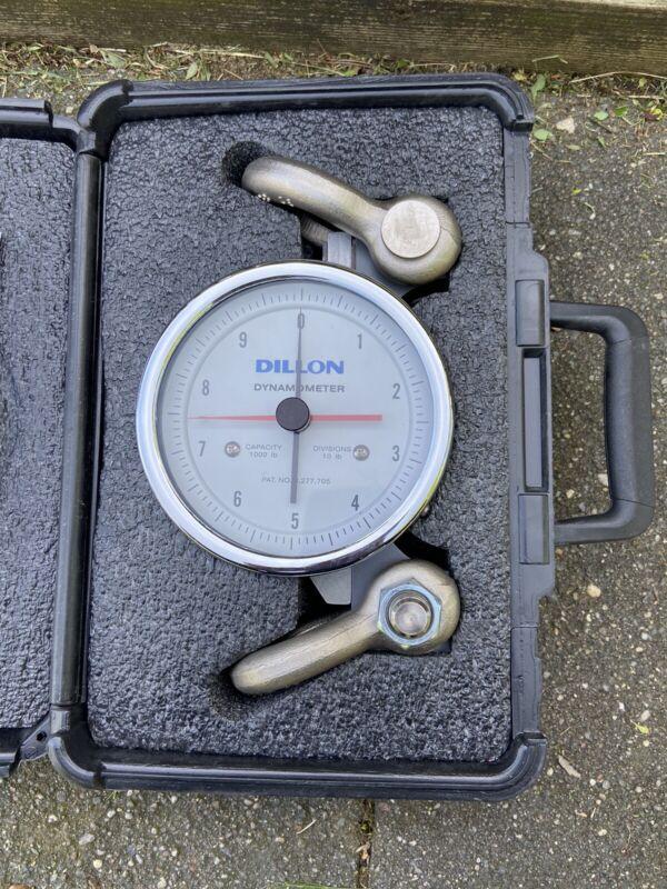 Dillon AP Dynamometer 1000 lb Capacity x 10 lb Divisions Mechanical Tensioner