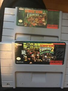 Donkey Kong Country 1+2 SNES