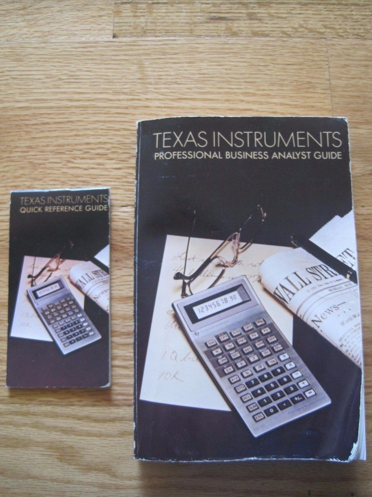 Texas Instruments Professional Business Analyst Guide/ Manual