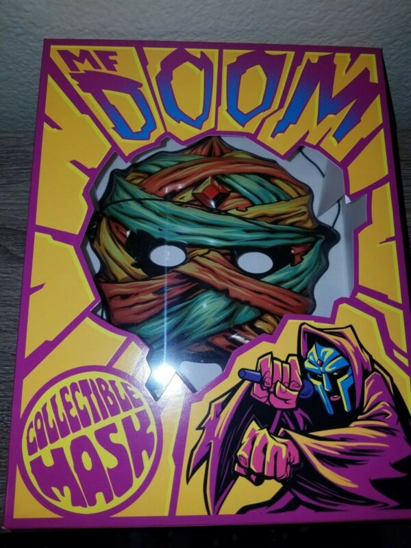 MF DOOM Collectible Mask Mummy SOLD OUT Rap NEW Limited Edition Box hip hop