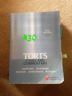 LAW TEXTBOOKS FOR SALE
