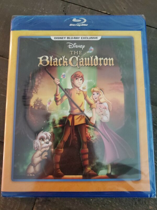 The Black Cauldron (Blu-ray Disc, Disney, 1985) Brand New, FREE SHIPPING