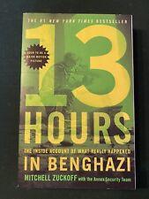 13 hours in benghazi book