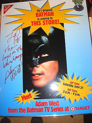 Adam West / Burt Ward / Yvonne Craig signed autographed autograph signature item