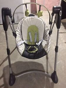 Graco swing by me portable 2-in-1 baby swing