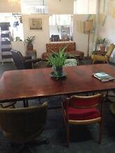 Big board room wooden table Marrickville Marrickville Area Preview