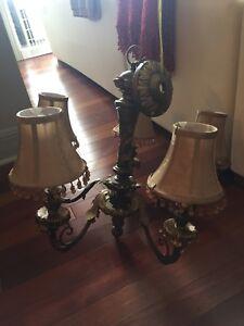 luminaire look antique