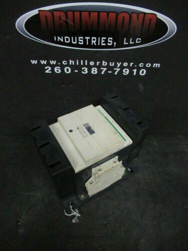 SCHNEIDER CONTACTOR LC1D150 160 AMP 600 VAC 125 HP COIL: 115 VAC **WARRANTY**
