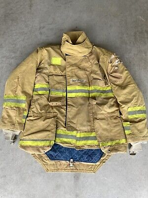 Firefighter Honeywell Morning Pride Turnout Bunker Coat 46 Chest X 34 Length Use