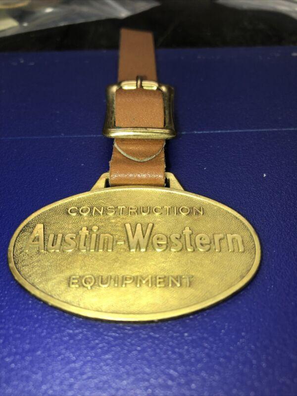 vintage antique pocket watch fob  AAustin-Western Logo Fob ABD-2