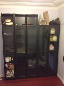 5 IKEA billy cabinets. Ermington Parramatta Area Preview