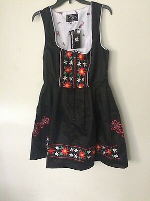 US Dirndl Dress German Oktoberfest Bavarian Beer Wench Costume Maid Outfit Fancy](German Female Outfit)