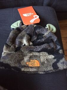 North face baby winter hat