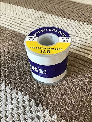 60-40 Tin Rosin Core Solder Wire Electrical Soldering Flux .0310.8mm 1lb Roll