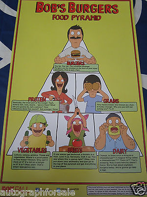 Bob's Burgers 2014 San Diego Comic-Con SDCC exclusive 11x17 mini promo poster MT