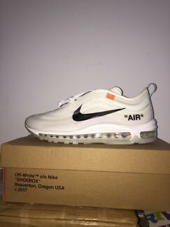 PRICES DROP!Nike X Off-White air max 97