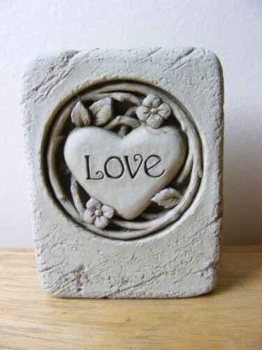 Carruth Mini Love Plaque Heart Support Wildlife Rehab