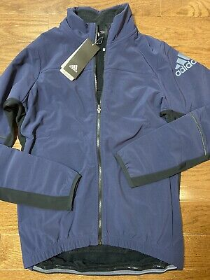 2XU Womens 23.5 Jacket Top Blue Sports Running Full Zip Breathable Reflective