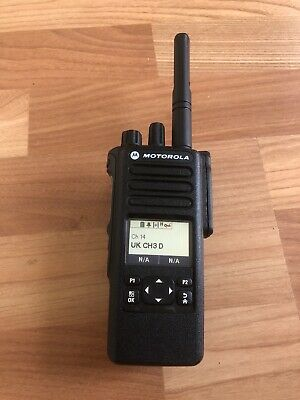 Motorola DP4600E UHF Radio 403-527 MHz  (RADIO 1 OF 2)