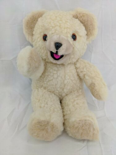 "Russ Snuggle Bear Plush 10"" Lever Brothers 1986 Stuffed Animal Toy #2"