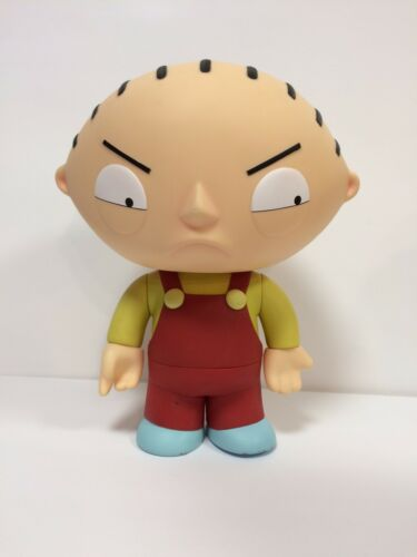 "Family Guy 12"" Inch Deluxe Talking Stewie Figure Mezco Toys Adult Swim"